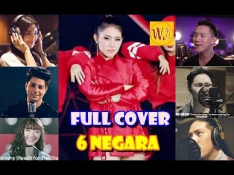 6 cover lagu  quot meraih bintang quot  versi 6 negara  theme song asian games 2018