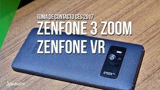 Asus Zenfone 3 Zoom y Zenfone VR