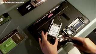 SSD einbauen und tauschen gegen eine HDD/FESTPLATTE - OCZ AGILITY 3 120 GB