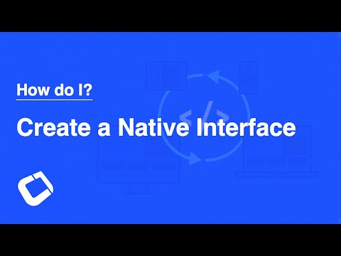 Access Native Device Functionality? Invoke native interfaces?