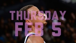 NBA Daily Show: Feb. 5 – The Starters