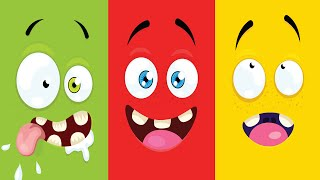 Color song and more children's songs collection 50 min