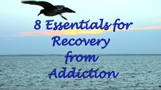 8 Essentials for Recovery from Addiction