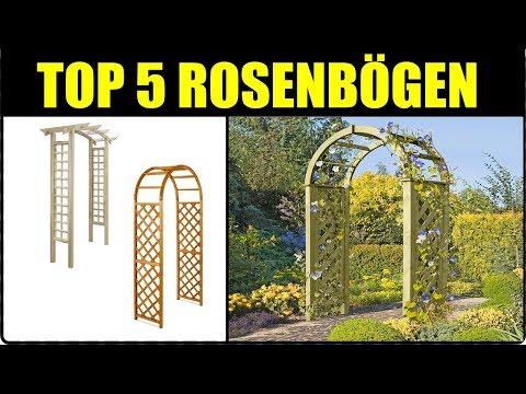TOP 5 ROSENBOGEN ★ Rosenbogen aus Holz ★ Metall Rankbogen + Ranktor für Garten ★ Holz Gartentor,..