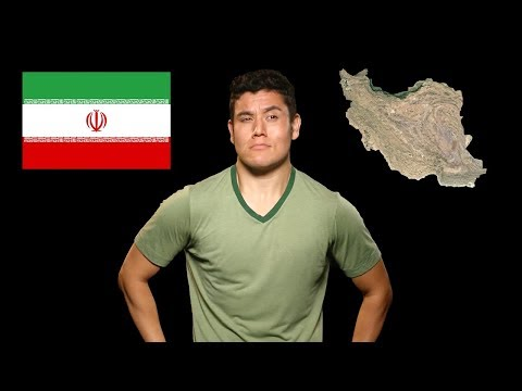 Írán - Geography Now!
