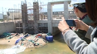 Làm rõ thông tin về vệt nước đỏ tại cảng Sơn Dương và Vũng Áng