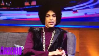 Prince on Arsenio:  Breaks down music vs the internet.