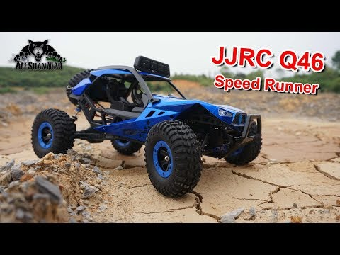 My Blue JJRC Q46 Electric RC 4WD Off Road Buggy