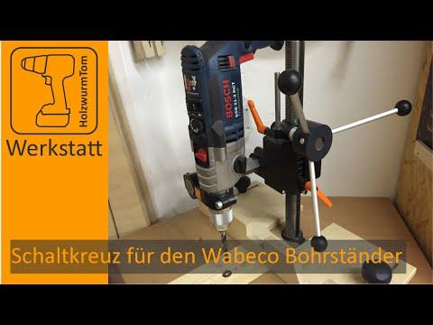 Drehkreuz für den Wabeco Bohrständer - Turret Levers for the Drillpress