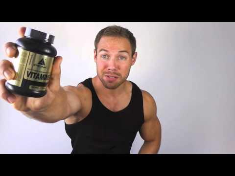 Vitamine zum Muskeln aufbauen?