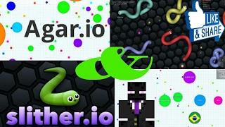 Slither.io & Agar.io Montage #1