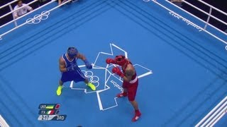 Oleksandr Usyk (UKR) Wins 91kg Heavy Boxing Gold - London 2012 Olympics