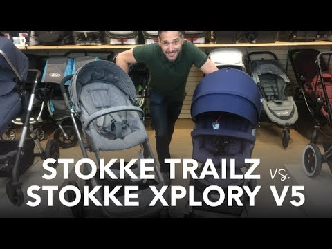 Stokke Trailz vs Stokke Xplory v5 Stroller 2017 | Reviews | Ratings | Prices | Comparisons