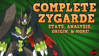 Zygarde Perfect Form STATS & ORIGIN! (Speculation)