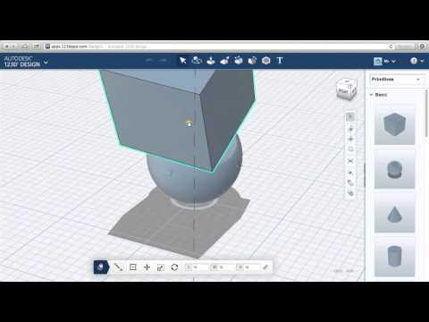 123D Design Online: Moving & Cruising