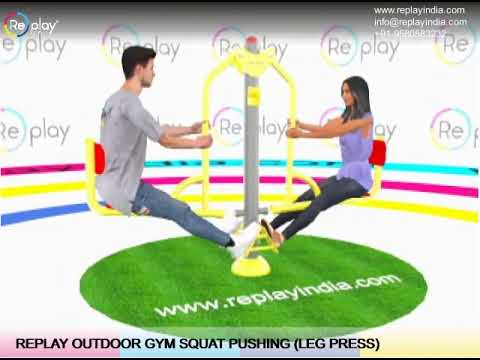 OUTDOOR SEATED TWISTER TRIPLE