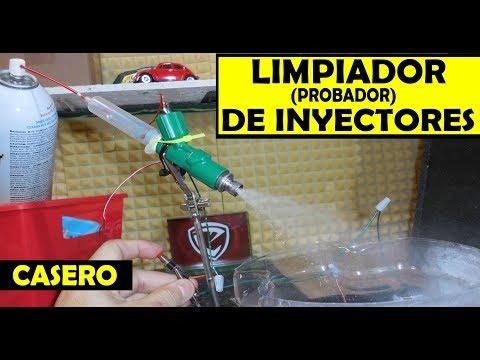 Como hacen un LIMPIADOR/probador de INYECTORES  (invento casero)