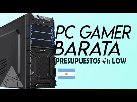 PC GAMER BARATA ARGENTINA 2018 | PRESUPUESTOS INTEL #1