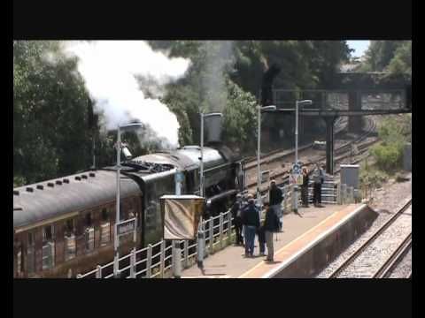 Peppercorn A1 60163 'Tornado' pauses at Wandworth Road with …