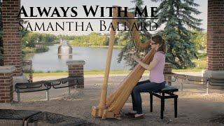 Always With Me (Itsumo Nando Demo)- Spirited Away - Harp Cover | Samantha Ballard