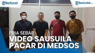 Pria Sebar Video Asusila Pacar di Medsos, Kesal karena si Wanita Pulang ke Sumbawa