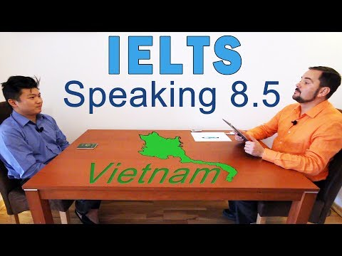 IELTS Speaking Band 8.5 Vietnamese - Full with Subtitles - YouTube