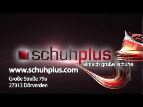 Schuhplus.com Schuhe in Übergrößen Damenschuhe Herrenschuhe XXL TV-Spot