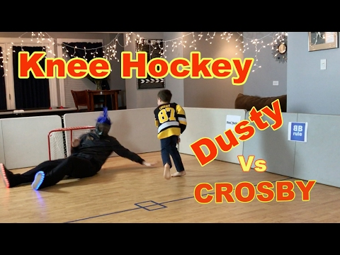 Kids HoCkey - Epic Knee hockey Dusty v Sidney Crosby at Butcher Boyz Rule Arena