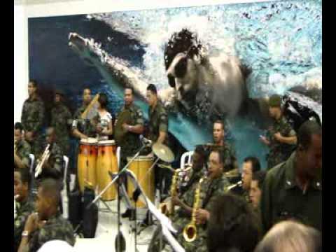 Homenagem do Exército Brasileiro ao campeão da Libertadores 2012
