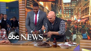 The Chew Co-host Shares How To Make His Signature Ribs