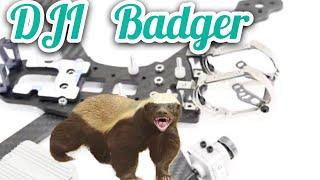 "Armattan Badger DJI Edition HD Drone Frame - 6"" version Honey Badger"