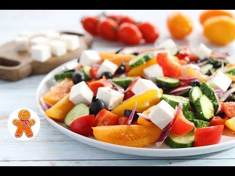 Греческий Салат ✧ Greek Salad
