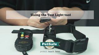 Using the Test Light tool