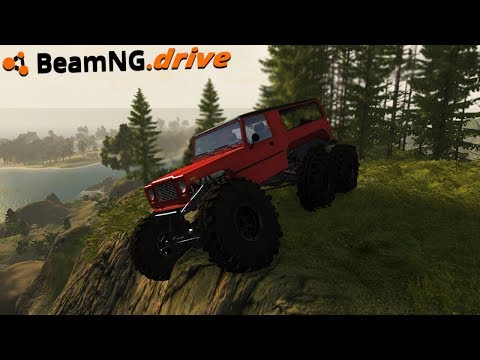 BeamNG.drive - BEST OFFROADING MAP