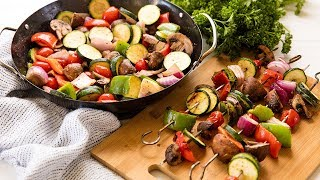 How To Make The Best Grilled Vegetables | The Stay At Home Chef