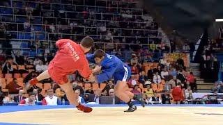 Заслуженный мастер спорта Сочинец Арсен Ханджян в финале Кубка мира по самбо