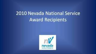 2010 Nevada National Service Awards