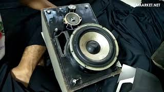 Cara Membuka Box Speaker Sony SS-VX5A (Sealed Speaker)