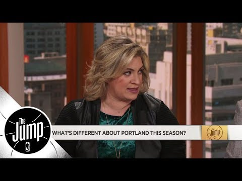 What's different about Trail Blazers this season? 'They're playing defense' | The Jump | ESPN