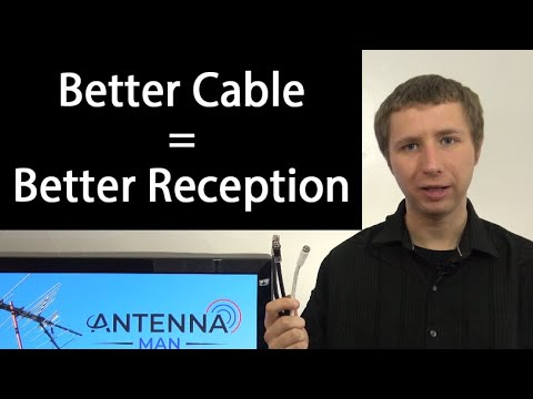 RG6 vs RG59 - How Your Coaxial Cable Impacts Your TV Reception