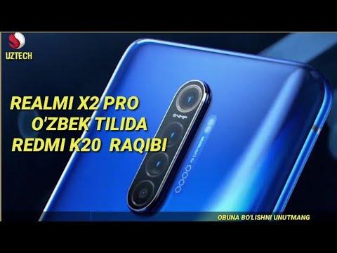 REALMI X2 PRO -O'ZBEK TILIDA /REDMI K20GA MOS RAQIB !!!