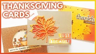 3 Easy DIY Thanksgiving Cards To Share With Family And Friends
