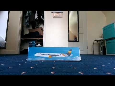 Review for the Thomas Cook Airbus A321 1:200 scale model