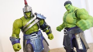 Figma Hulk with Marvel Legends Gladiator Hulk Armor Tutorial
