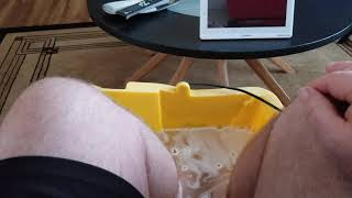 How to soak your feet without a tub (GOUT)
