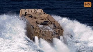 Extremely Powerful Amphibious Tanks Shows Its Incredible Ability