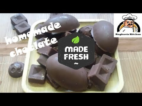 homemade chocolate || homemade dry fruit chocolate