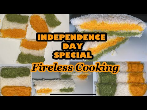 Independence Day Special Recipe | TRICOLOR Sandwich | Fireless Cooking