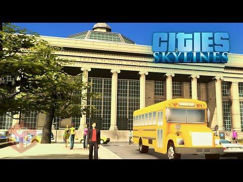 Cities: Skylines - Campus — ПТУ на максималках!