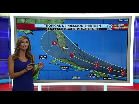 Category 1 hurricane could be approaching Florida's coastline Monday morning
